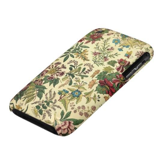 Old Fashioned Floral Abundance iPhone 3 Cover