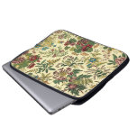 Old Fashioned Floral Abundance Laptop Sleeves