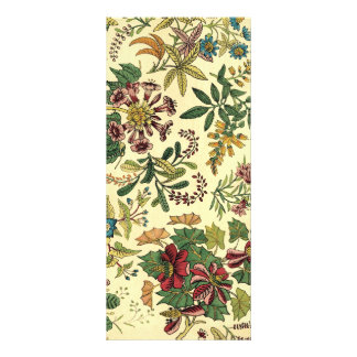 Old Fashioned Floral Abundance Rack Card