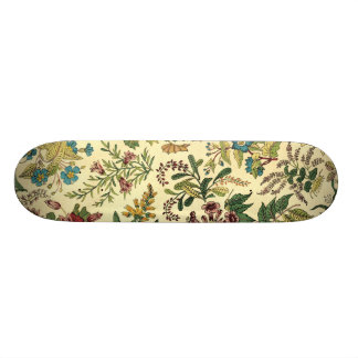 Old Fashioned Floral Abundance Skateboard Deck