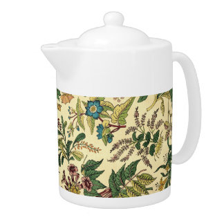 Old Fashioned Floral Abundance Teapot