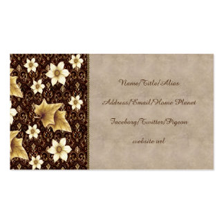 Old-Fashioned Flowers Business Card