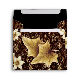 Old-Fashioned Flowers Envelopes