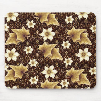 Old-Fashioned Flowers Mouse Pad