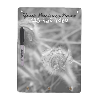 Old Fashioned Flowers; Promotional Dry Erase Board