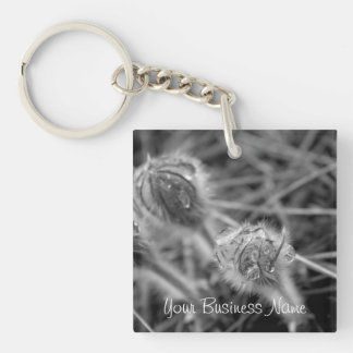 Old Fashioned Flowers; Promotional Keychain