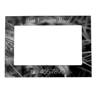 Old Fashioned Flowers; Promotional Magnetic Picture Frame