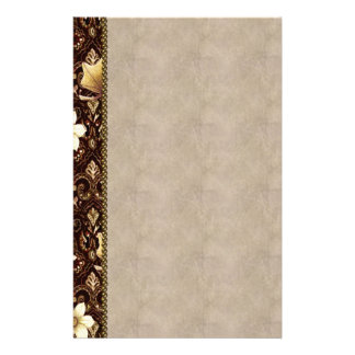Old-Fashioned Flowers Stationery
