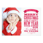 OLD FASHIONED FONT | HOLIDAY PHOTO CARD