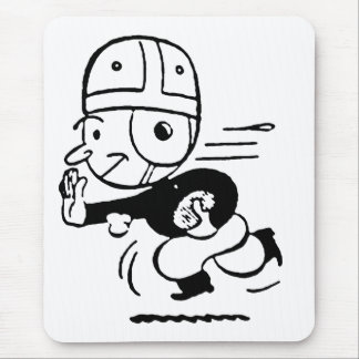 Old Fashioned Football Mouse Pad