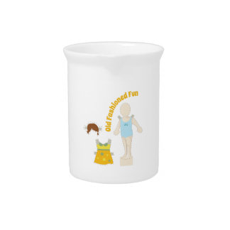 Old Fashioned Fun Drink Pitcher