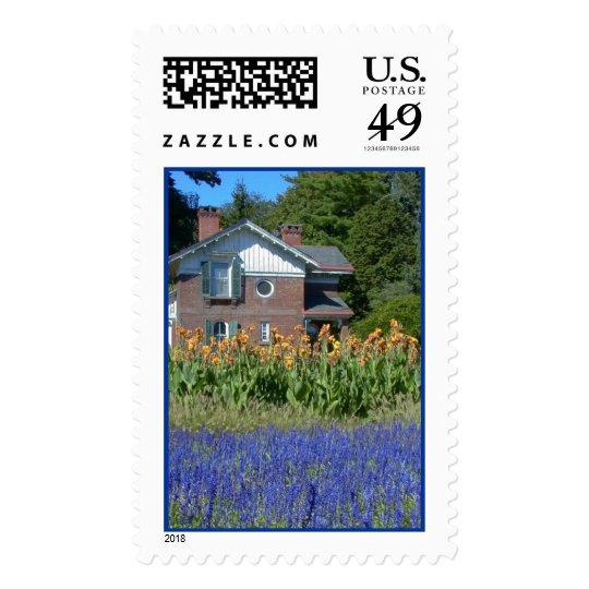 Old Fashioned Garden (Vanderbillt Mansion) Postage