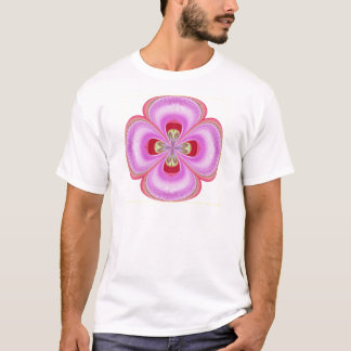 Old Fashioned -  GoodLuck Floral Print T-Shirt