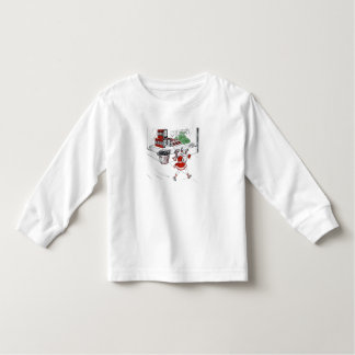 Old Fashioned Grocery Store and Little Girl Toddler T-shirt