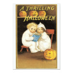 Old Fashioned Halloween Ghost Story Kids Personalized Invitation