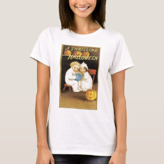 Old Fashioned Halloween Ghost Story Kids T-Shirt