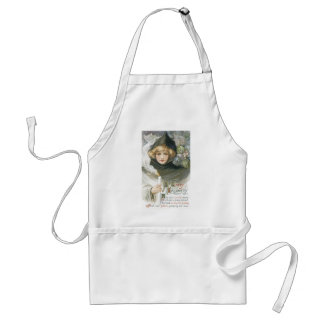 Old Fashioned Halloween Goblin Tale Adult Apron