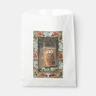 Old-fashioned Halloween, Owl Favor Bag