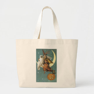Old Fashioned Halloween Witch & The Moon Bags