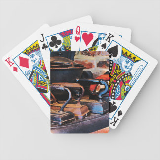 Old Fashioned Irons Bicycle Playing Cards