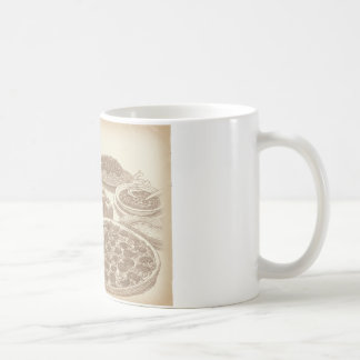 Old Fashioned Italian Food Coffee Mug
