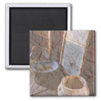 Old Fashioned Kitchen Collection 2 Inch Square Magnet