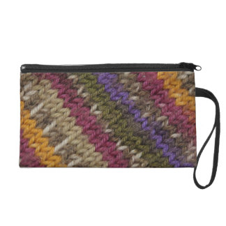 Old-Fashioned Knitted Sweater Pattern Wristlet