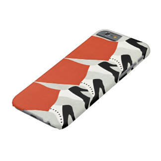 Old-Fashioned Lady Shoes Vintage Retro Art Deco Barely There iPhone 6 Case