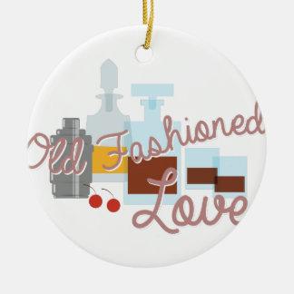 Old Fashioned Love Ceramic Ornament