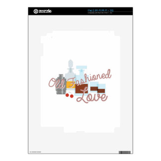 Old Fashioned Love Skin For The iPad 2