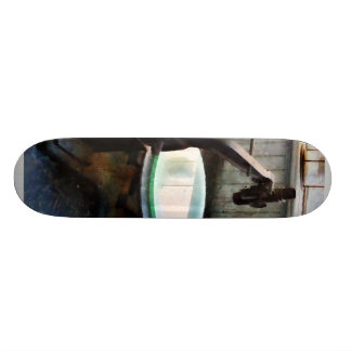 Old-Fashioned Microscope Skate Deck