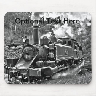 Old Fashioned Narrow Gauge Steam Train Mouse Pad