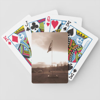 Old Fashioned Patriotism Bicycle Playing Cards