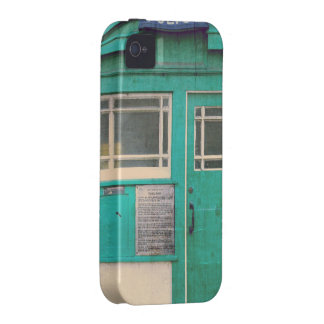 old-fashioned police phone box Case-Mate iPhone 4 covers