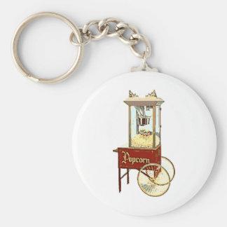 Old Fashioned Popcorn Machine Keychain