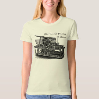 Old Fashioned Printing Press T-Shirt