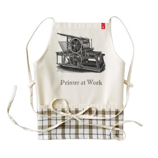 Old Fashioned Professional Printer's Apron