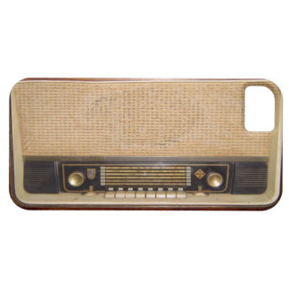 Old Fashioned Radio iPhone 5 case