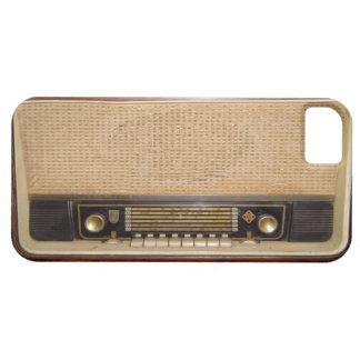 Old Fashioned Radio iPhone 5 case