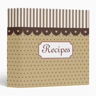 Old Fashioned Recipe Binder