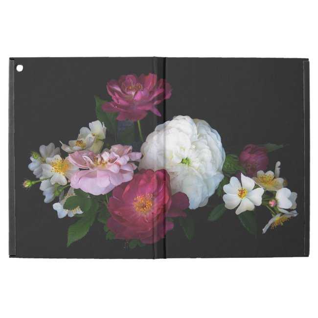 Old Fashioned Rose Flowers iPad Pro Case