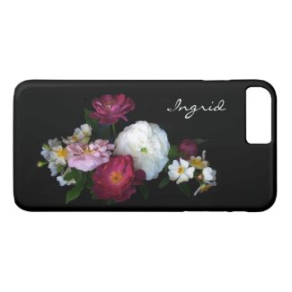 Old Fashioned Rose Flowers iPhone 7 Plus Case
