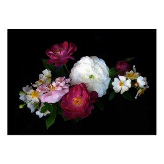 Old fashioned Roses ATC profilecard