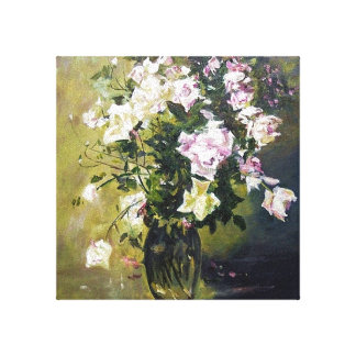 """""""OLD FASHIONED ROSES' CANVAS PRINT"""