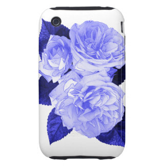Old Fashioned Roses Tough iPhone 3 Case