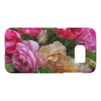 Old Fashioned Roses Floral Samsung Galaxy S7 Case
