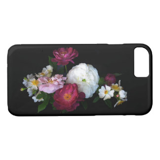 Old Fashioned Roses Garden Flowers iPhone 7 Case