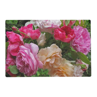 Old Fashioned Roses Laminated Placemat