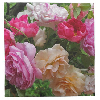 Old Fashioned Roses Napkins