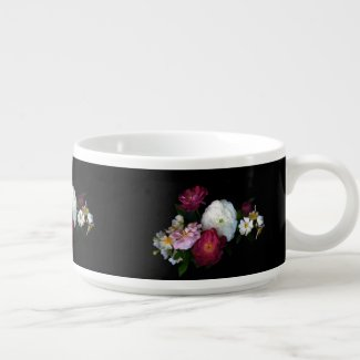 Old Fashioned Roses Soup Bowl
